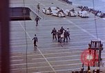 Image of USS Bunker Hill (CV-17) after Kamikaze attack Pacific Ocean, 1945, second 24 stock footage video 65675050832
