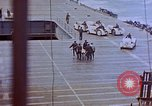 Image of USS Bunker Hill (CV-17) after Kamikaze attack Pacific Ocean, 1945, second 28 stock footage video 65675050832