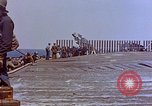Image of USS Bunker Hill (CV-17) after Kamikaze attack Pacific Ocean, 1945, second 32 stock footage video 65675050832