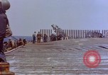 Image of USS Bunker Hill (CV-17) after Kamikaze attack Pacific Ocean, 1945, second 33 stock footage video 65675050832