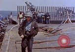 Image of USS Bunker Hill (CV-17) after Kamikaze attack Pacific Ocean, 1945, second 44 stock footage video 65675050832