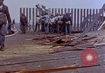 Image of USS Bunker Hill (CV-17) after Kamikaze attack Pacific Ocean, 1945, second 47 stock footage video 65675050832