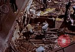 Image of USS Bunker Hill (CV-17) after Kamikaze attack Pacific Ocean, 1945, second 51 stock footage video 65675050832