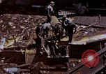 Image of USS Bunker Hill (CV-17) after Kamikaze attack Pacific Ocean, 1945, second 60 stock footage video 65675050832