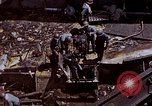 Image of USS Bunker Hill (CV-17) after Kamikaze attack Pacific Ocean, 1945, second 62 stock footage video 65675050832
