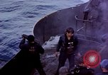 Image of CV-6 USS Enterprise aftermath of kamikaze attack Pacific Ocean, 1945, second 6 stock footage video 65675050833