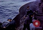 Image of CV-6 USS Enterprise aftermath of kamikaze attack Pacific Ocean, 1945, second 8 stock footage video 65675050833