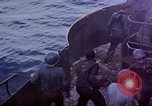 Image of CV-6 USS Enterprise aftermath of kamikaze attack Pacific Ocean, 1945, second 11 stock footage video 65675050833