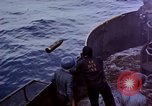 Image of CV-6 USS Enterprise aftermath of kamikaze attack Pacific Ocean, 1945, second 12 stock footage video 65675050833