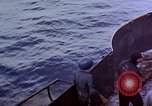 Image of CV-6 USS Enterprise aftermath of kamikaze attack Pacific Ocean, 1945, second 13 stock footage video 65675050833