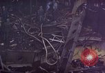 Image of CV-6 USS Enterprise aftermath of kamikaze attack Pacific Ocean, 1945, second 21 stock footage video 65675050833