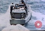 Image of motor launch Pacific Ocean, 1945, second 10 stock footage video 65675050839