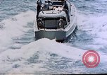 Image of motor launch Pacific Ocean, 1945, second 12 stock footage video 65675050839