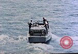 Image of motor launch Pacific Ocean, 1945, second 14 stock footage video 65675050839