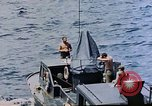 Image of motor launch Pacific Ocean, 1945, second 22 stock footage video 65675050839