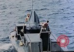 Image of motor launch Pacific Ocean, 1945, second 24 stock footage video 65675050839