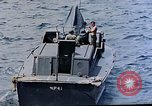 Image of motor launch Pacific Ocean, 1945, second 28 stock footage video 65675050839