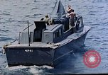 Image of motor launch Pacific Ocean, 1945, second 31 stock footage video 65675050839
