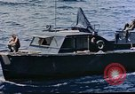 Image of motor launch Pacific Ocean, 1945, second 33 stock footage video 65675050839