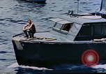 Image of motor launch Pacific Ocean, 1945, second 38 stock footage video 65675050839