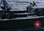 Image of motor launch Pacific Ocean, 1945, second 46 stock footage video 65675050839