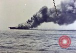 Image of USS Bunker Hill Pacific Ocean, 1945, second 10 stock footage video 65675050857