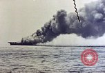 Image of USS Bunker Hill Pacific Ocean, 1945, second 14 stock footage video 65675050857