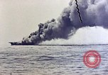 Image of USS Bunker Hill Pacific Ocean, 1945, second 29 stock footage video 65675050857