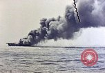 Image of USS Bunker Hill Pacific Ocean, 1945, second 36 stock footage video 65675050857