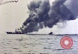 Image of USS Bunker Hill Pacific Ocean, 1945, second 56 stock footage video 65675050857