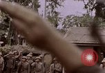 Image of American flag raising ceremony Saipan Northern Mariana Islands, 1944, second 1 stock footage video 65675050871
