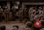 Image of American flag raising ceremony Saipan Northern Mariana Islands, 1944, second 12 stock footage video 65675050871