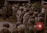 Image of American flag raising ceremony Saipan Northern Mariana Islands, 1944, second 13 stock footage video 65675050871