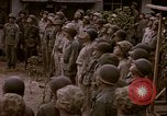 Image of American flag raising ceremony Saipan Northern Mariana Islands, 1944, second 14 stock footage video 65675050871