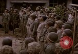 Image of American flag raising ceremony Saipan Northern Mariana Islands, 1944, second 15 stock footage video 65675050871