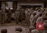 Image of American flag raising ceremony Saipan Northern Mariana Islands, 1944, second 17 stock footage video 65675050871