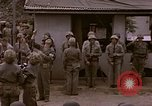 Image of American flag raising ceremony Saipan Northern Mariana Islands, 1944, second 20 stock footage video 65675050871