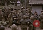 Image of American flag raising ceremony Saipan Northern Mariana Islands, 1944, second 22 stock footage video 65675050871