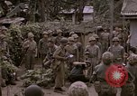 Image of American flag raising ceremony Saipan Northern Mariana Islands, 1944, second 23 stock footage video 65675050871