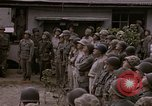 Image of American flag raising ceremony Saipan Northern Mariana Islands, 1944, second 24 stock footage video 65675050871