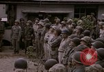 Image of American flag raising ceremony Saipan Northern Mariana Islands, 1944, second 26 stock footage video 65675050871
