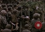 Image of American flag raising ceremony Saipan Northern Mariana Islands, 1944, second 29 stock footage video 65675050871