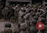 Image of American flag raising ceremony Saipan Northern Mariana Islands, 1944, second 33 stock footage video 65675050871