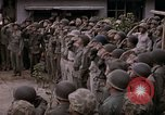Image of American flag raising ceremony Saipan Northern Mariana Islands, 1944, second 45 stock footage video 65675050871