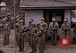 Image of American flag raising ceremony Saipan Northern Mariana Islands, 1944, second 50 stock footage video 65675050871