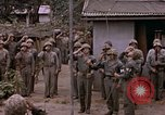 Image of American flag raising ceremony Saipan Northern Mariana Islands, 1944, second 51 stock footage video 65675050871