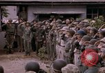 Image of American flag raising ceremony Saipan Northern Mariana Islands, 1944, second 55 stock footage video 65675050871