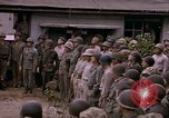 Image of American flag raising ceremony Saipan Northern Mariana Islands, 1944, second 56 stock footage video 65675050871