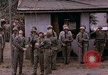 Image of American flag raising ceremony Saipan Northern Mariana Islands, 1944, second 59 stock footage video 65675050871