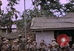 Image of American flag raising ceremony Saipan Northern Mariana Islands, 1944, second 61 stock footage video 65675050871